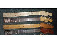 Guitar parts > necks - Strat/ Tele shapes - assorted - Stratocaster Telecaster