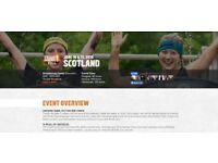 Saturday 16th June Tough Mudder FULL Scotland Day Ticket