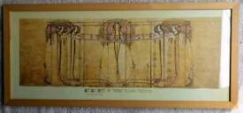 """Margaret MacDonald Mackintosh"" Framed Print"