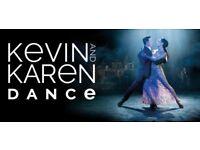 Kevin & Karen Dance at Edinburgh Usher Hall - £70 for pair of tickets