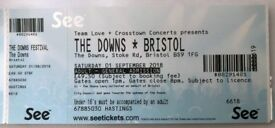 2 x Tickets to Bristol Downs Festival Saturday 1st September £80 for both
