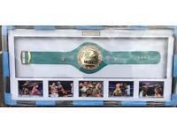 Mayweather Junior signed belt