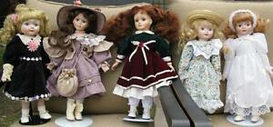 Porcelain Dolls x 6 ( Great for Christmas!) London Ontario image 7