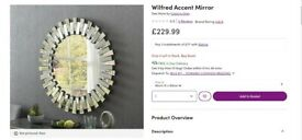 Wall Mirror from Wayfair - 90cm x 90cm