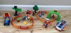Playmobil 123 Large Zoo 6754 & Playmobil 123 Coach 6773