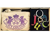 JUICY COUTURE COIN PURSE & KEY RING SET