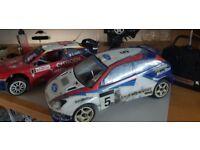 RC 1:8 Nitro Cars x 2