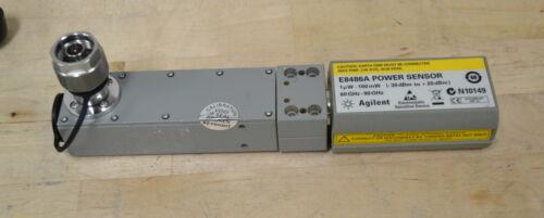 Agilent Keysight E8486A WR12 Waveguide Power Sensor 60-90GHz -30 to +20dbm GOOD