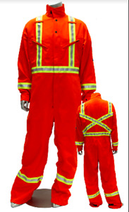NOMEX IIIA - TECASAFE PLUS  HRC2 Coverall - Orange