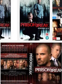 Prison break seasons 1&2 dvd boxsets
