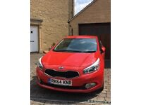 Kia Cee'd 1.6 CRDi 2 5dr Full Service History, Warranty and MOT