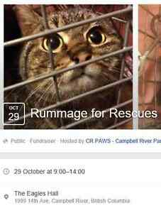 Rummage for Rescues Garage and Bake Sale!