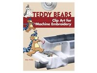 Wanted: Alan Weller Book - 'Teddy Bears Clip Art for Machine Embroidery'