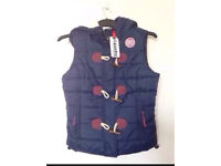 Superdry Gilet New With Tags RRP £74.99