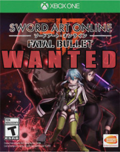 Looking for Sword Art Online: Fatal Bullet for Xbox One