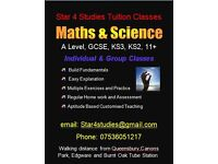 GCSE,KS3, 11+ Tutor-Maths, Science-Physics, Chemistry & Biology Tuition in Edgware, Stanmore, Harrow