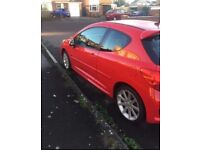 Peugeot 207gt sell or swap