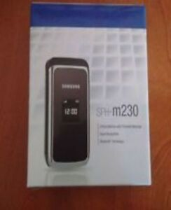 Samsung SPH-M230 flip Cell Phone without sim card