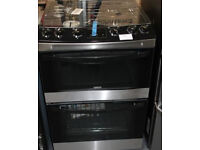 60CM ZANUSSI GAS COOKER IN BLACK WITH GUARANTEE AND FREE DELIVERY