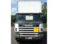 97/P Scania 94D Curtainsider