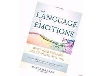 The Language of Emotions Paperback Book by Karla McLaren.
