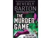 The Murder Game by Beverly Barton (Paperback Book).
