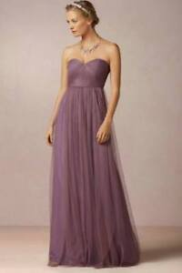 "Prom dress ""Annabelle"" by BHLDN in PLUM/PURPLE/MAUVE"