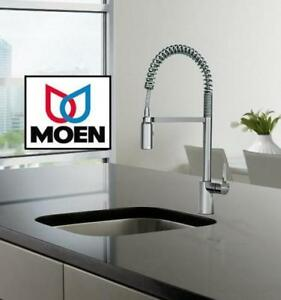 NEW* MOEN PULL DOWN KITCHEN FAUCET 188496911 Tools Home Improvement Rough Plumbing CHROME FINISH