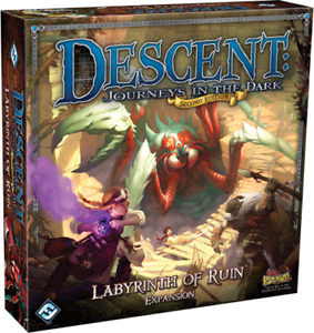 Descent: Journeys in the  dark - Labyrinth of ruin NEVER PLAYED
