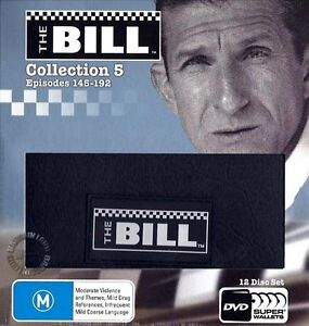 THE BILL TV Series COLLECTION 5 = NEW R4 DVD