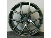 "x4 20"" Premium C63 Amg 507 Style Alloys 8.5/9.5 Mercedes C E S Class GM Polished"