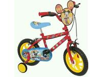 "12"" Mickey Mouse Clubhouse Bike"