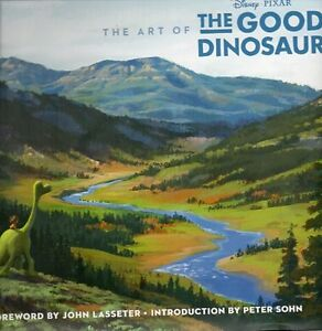 THE ART OF THE GOOD DINOSAUR DISNEY PIXAR NEW SAVE $45!!