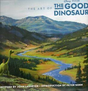 ART OF THE GOOD DINOSAUR DISNEY PIXAR MAGIC NEW SAVE $46