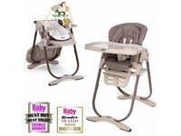 Chicco 3 in 1 Polly Magic Highchair and baby seat