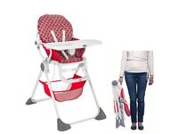 Chico high chair pocket lunch