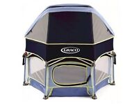 Graco playpen with canopy