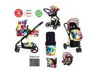 Travel system Cosatto giggle pixalate