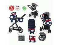 *REDUCED*Cosatto Giggle 2 Ooh lala travel system