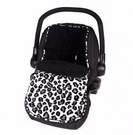 Clair de Lune car seat footmuff