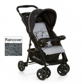 BRAND NEW IN BOX Hauck shopper Neo pram pushchair buggy stroller ideal for holiday BLACK GREY