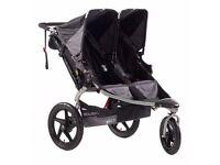 Britax Bob Luxury Revolution Sport Duallie Double Pushchair Stroller Buggy - RRP: £785