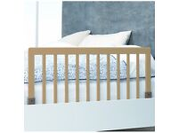BabyDan wooden bed rail - almost new, bargain From John lewis