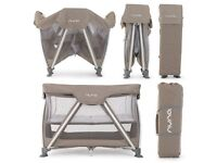 Sena Nuna Travel Cot Brand New Luxury RRP £160