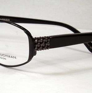 Dana Buchman Emily Black Woman Eyeglasses Eyewear new Frames