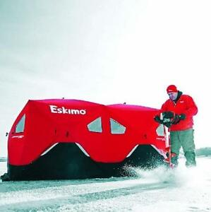 NEW ESKIMO FATFISH ICE SHELTER 9416 135776894