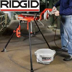 NEW RIDGID TRISTAND CHAIN PIPE VISE 36273 213793239 PORTABLE PLUMBING TOOL