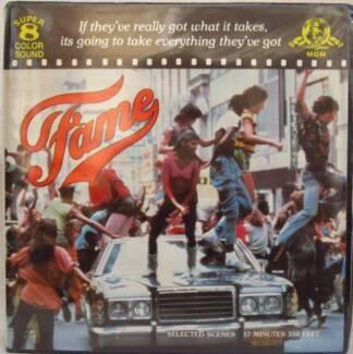 Fame - Super 8mm color sound movie Sydney City Inner Sydney Preview