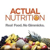 """Actual Nutrition"" Meal planning services - Registered Dietitian"