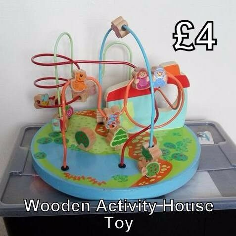 Wooden Activity House Toy
